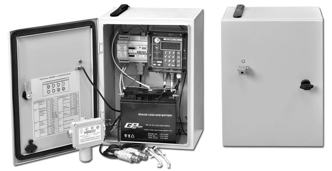 Контроллер телеметрии ГРП автономный